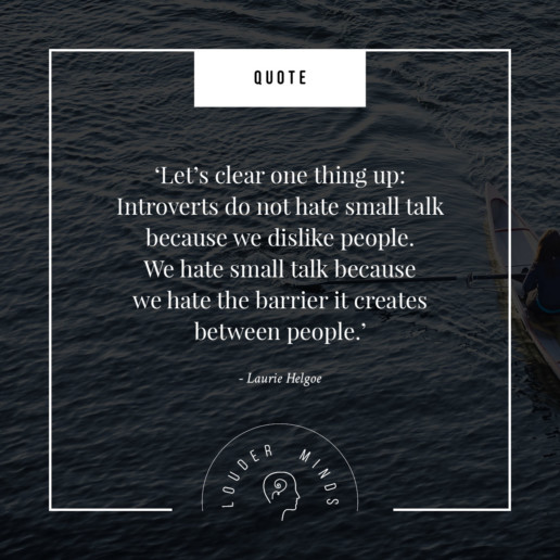 introverts small talk